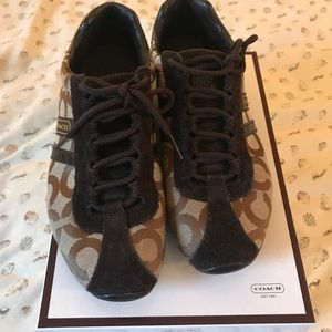 Coach Sneakers in Brown Size 7